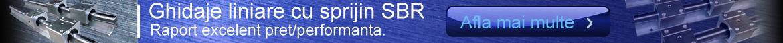 ghidaje liniare SBR de precizie