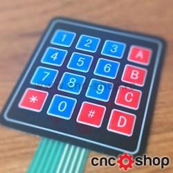 Tastatura membrana 4x4
