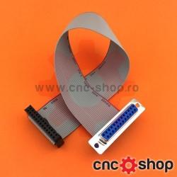 Cablu panglică cu conectori IDC26 -DSUB25 mama