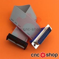 Cablu panglică cu conectori IDC26 -DSUB25 tata