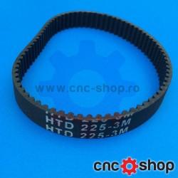 Curea inchisa HTD 3M -09 Z75 (L225mm)
