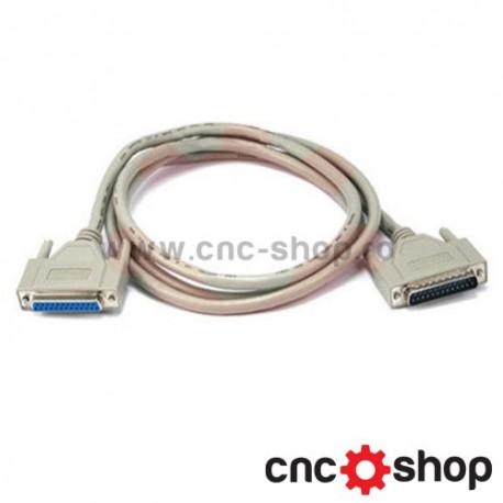 Cablu paralel DB25 mama/tata
