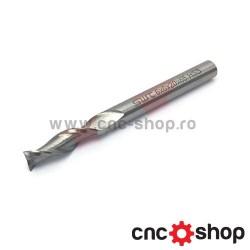 Freza CNC, 2F 6x6 HSS